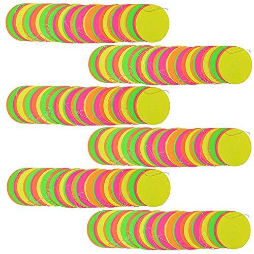Neon decoraciones decoración del fiesta de cumpleaños, color rosa y naranja neón, amarillo y verde guirnalda, decoración de verano Guardería Decor