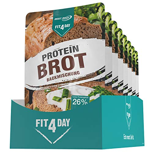 Best Body Nutrition Fit4Day Protein Brot Backmischung, 8 x 250 g