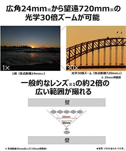 パナソニックコンパクトデジタルカメラルミックスTZ95光学30倍ブラックDC-TZ95-K