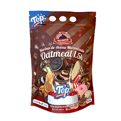 Max Protein Oatmeal Top Flavors 15 kg Boombig Sack 15 kg 600 g