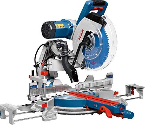 Bosch Professional 0601B23600 Troncatrice Radiale GCM 12 GDL, Laser a Doppia Linea, Pinza di Serraggio, Diametro Foro della Lama: 305 mm, 2000 W, 230 V, Multicolore