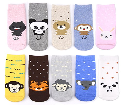 YR1607 Unisex Cute Adorabel Baby Toddler Warm and Cozy Socks; Ideal Winter Item...