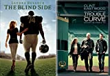 True Story The Blind Side DVD Football Movie / Trouble With the Curve Clint Eastwood Baseball Double Feature Sports Set
