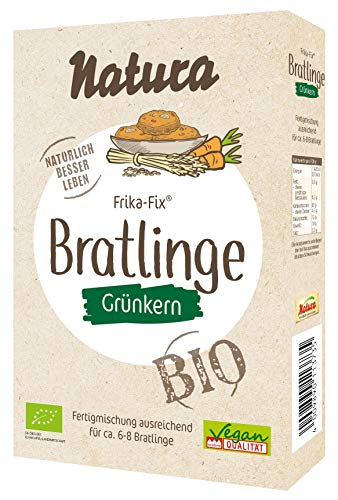 Natura Frika Fix Bio Grünkern-Bratlinge, 150 g