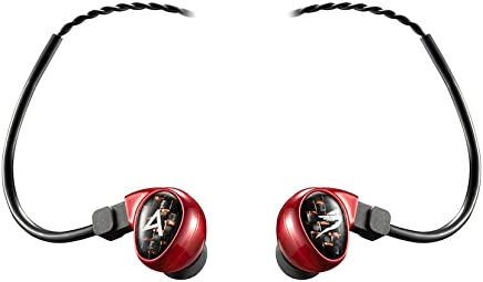 Astell&Kern Billie Jean in-Ear Monitors by Jerry Harvey Audio, Red