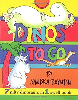 Dinos To Go : 7 Nifty Dinosaurs in 1 Swell Book