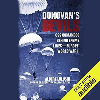 Donovan's Devils audiobook cover art