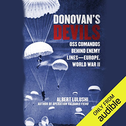 Donovan's Devils audiobook cover art