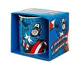 Logoshirt Captain America Taza de Cafe - Marvel Comics Taza - Diseño Original con Licencia