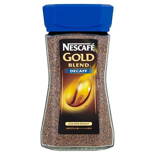 Nescafe Gold Blend Decaf Freeze Dried Instant Coffee 200g - Pack of 2
