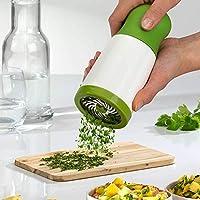 役立つ新しいハーブグラインダースパイスミルパセリシュレッダーチョッパーフルーツ野菜カッター