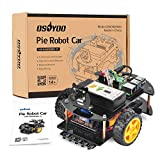 OSOYOO Robotic Car for Raspberry Pi 4 3B+ 3B | STEM Educational DIY Smart Kit for Science Fair | Teens and Adults | Ultrasonic Obstacle, WiFi IOT, Web CSI Camera (RPi Board Not Included)