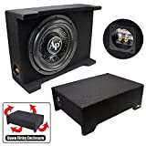 Audiopipe 12' Loaded Sealed Enclosure 800 Watts Shallow Mount 4 ohm
