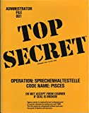 Top secret - An espionage role playing game