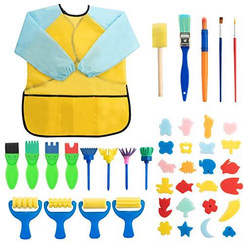 Surplex 42 Piezas Niños Temprano Aprendizaje Esponja