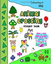 Animal crossing villager book colouring in fun