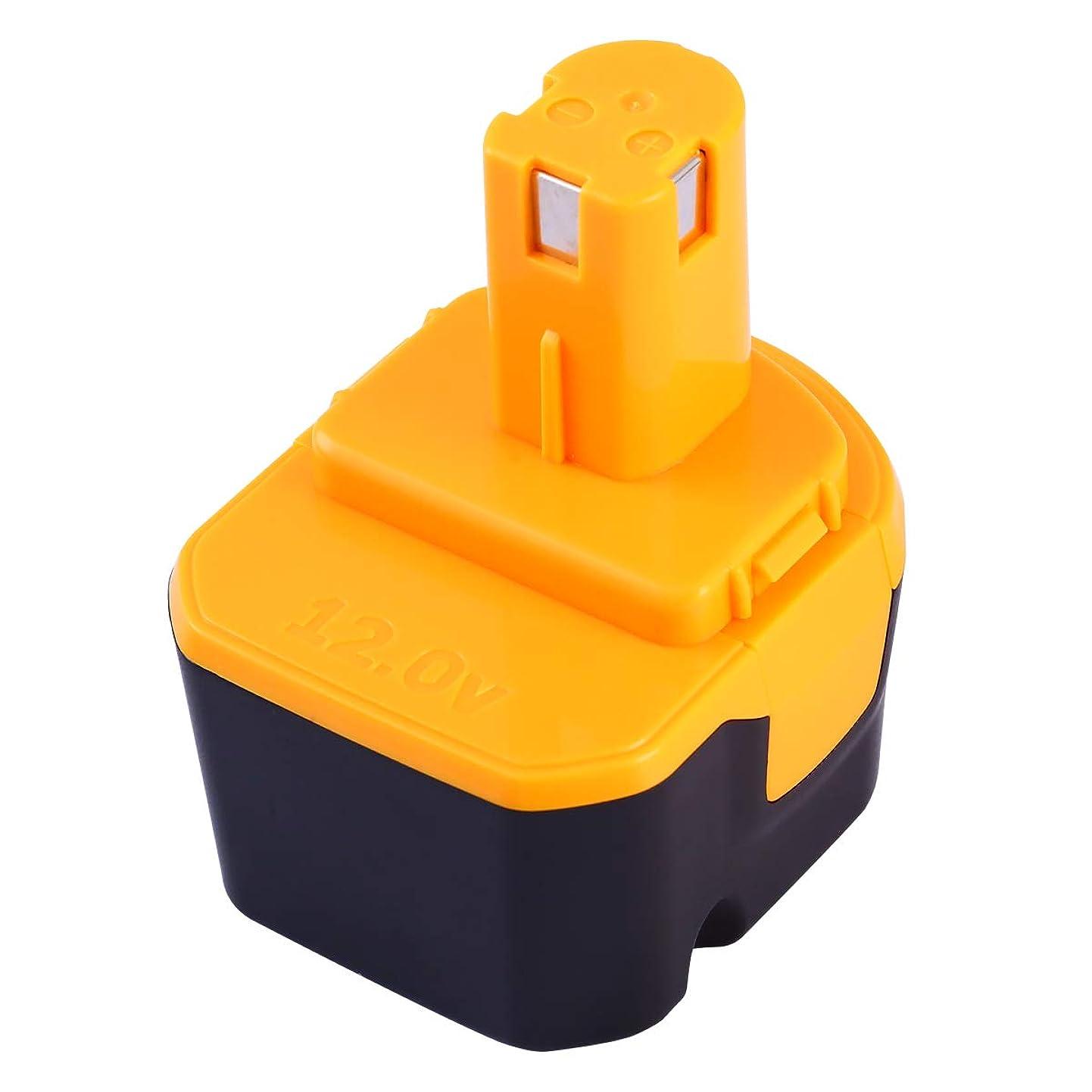 ワーディアンケース裁定財布Boetpcr RYOBIリョービ B-1203M B-1203F2 電池パック対応 12V 3.0Ah互換バッテリー B-1203C B-1203M1 B-1203F3 BPL-1220 B-1220F2代替電池 DIY工具?作業用電池 高品質 一年保証付き