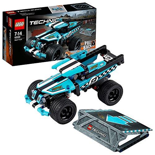 Lego-42059 Camión acrobático, Multicolor, Miscelanea (42059)