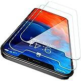 CASEKOO iPhone12 用 ガラスフィルム iPhone12pro 用 ガラスフィルム 6.1インチ ガイド枠付き 2枚セット 日本旭硝子製 強化ガラス 気泡ゼロ 透過率99.9% 飛散防止 アイフォン12用 アイフォン12 pro用 保護フィルム