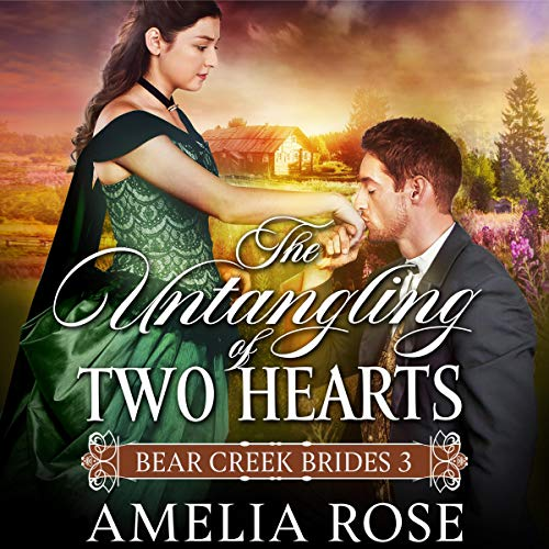 The Untangling of Two Hearts: Historical Western Mail Order Bride Romance cover art