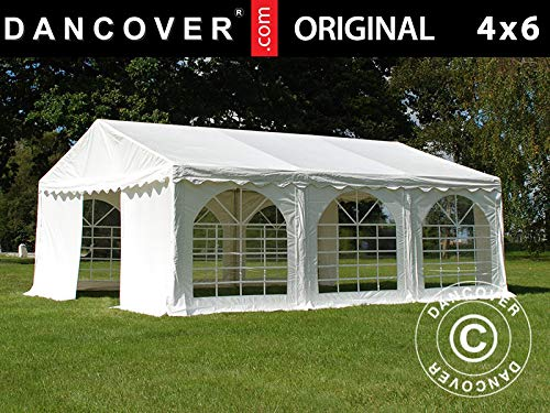 Dancover Partytent Original 4x6m PVC, Wit