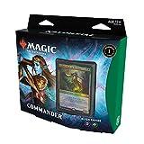 Magic The Gathering Kaldheim Commander Deck – Elven Empire   100 Card Ready-to-Play Deck   Green-Black