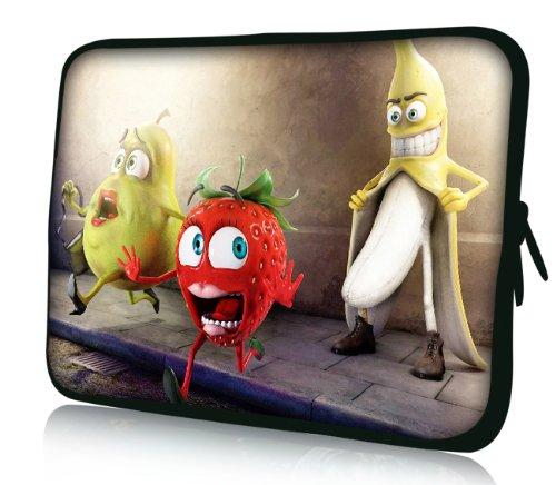 Luxburg® Design Laptoptasche Notebooktasche Sleeve für 17,3 Zoll (auch in 10,2 Zoll | 12,1 Zoll | 13,3 Zoll | 14,2 Zoll | 15,6 Zoll | 17,3 Zoll) , Motiv: Oh my God Banane