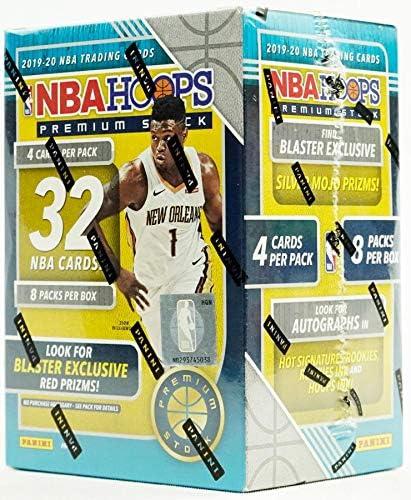 2019/20 Panini Hoops Premium Stock NBA Basketball BLASTER box (32 cards/bx)