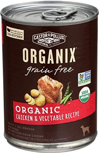 Castor Pollux Organix Grain Free Organic Chicken Vegetable 12 7 oz product image