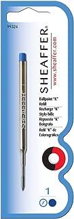 Sheaffer K Ballpoint Pen Refill Blue Fine