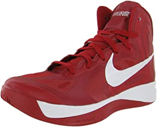 size 40 5b15c 0f192 Nike Hyperfuse TB Basketball Shoes 525019-600 Gym Red White
