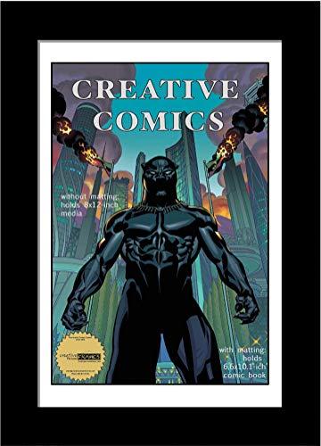 CreativePF [8x12bk-w] Collectors Art Comic Book Frame with...