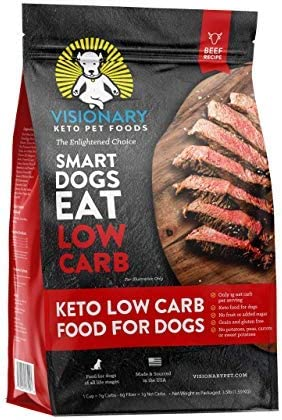 discount Visionary Pet - Keto Dog Food | Low Carb Kibble | High Protein new arrival | Natural Beef Flavor | Grain Free Dry Dog Food with Natural Formula for Lifelong online sale Health & Happiness… outlet sale