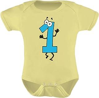 Tstars - Baby Boy I'm 1 Bodysuit One Year Old Birthday Gift Cute Baby Bodysuit