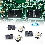 Ingeniería plástico DC12V táctil botón interruptor micro...