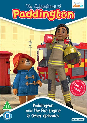 The Adventures Of Paddington: Paddington and The Fire Engine & Other Episodes [DVD] [2021]