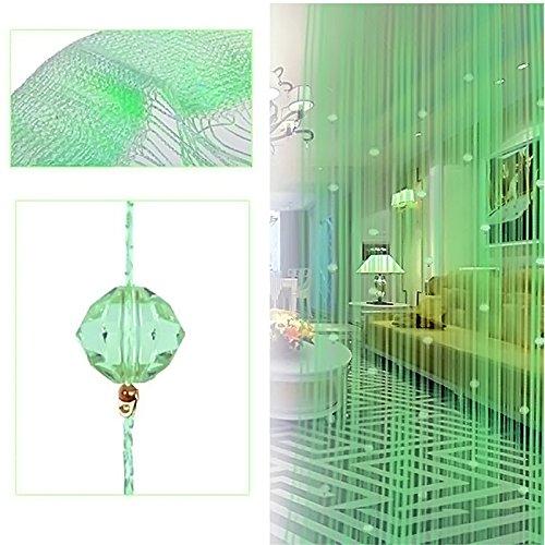 cortinas flecos verde