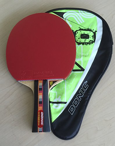 Donic Waldner Carbon Senso M2 Professional Table Tennis Bat with Case - 5 + 2 ply carbon blade -...