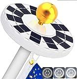 best solar flagpole lights LBELL