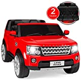 Best Choice Products 12V 3.7 MPH 2-Seater Licensed Land Rover Ride On w/ Parent Remote Control, MP3 Player - Red