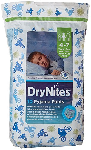 3 x DryNites Pyjama Pants Boy 4-7 Years x 10