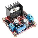 xingxing Módulo de accionamiento L298N Dual H Bridge Stepper Motor Driver Board para Arduino - productos que funcionan con placas Arduino oficiales Módulo de unidad Módulo de unidad