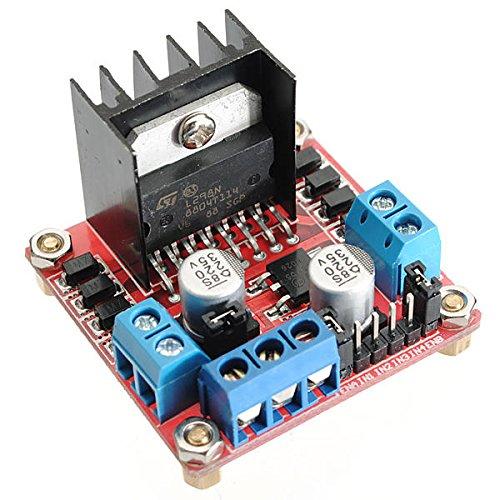 SYLOZ-URG Doppel 5Pcs L298N H-Brücke Schrittmotortreiberplatine for Arduino - Produkte, DASS die Arbeit mit vorgeschriebenen Arduino-Boards URG