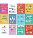 Carson Dellosa – Mini Posters: Growth Mindset Quotes, Classroom Décor, 12 Pieces