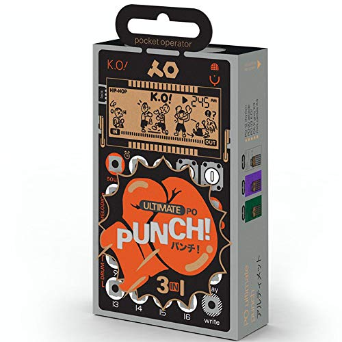 Check Out This Teenage Engineering Pocket Operator Ultimate Punch (Limited Edition)