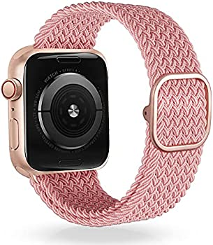 Veesimi Braided Elastic Watch Band for Apple Watch