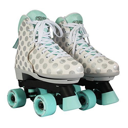 Circle Society Classic Adjustable Indoor and Outdoor Childrens Roller Skates - Craze Sugar Drops
