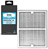 Home Revolution Replacement HEPA Filter, Fits Idylis IAP-10-100 and IAP-10-150 Air Purifiers and Type A Part IAF-H-100A