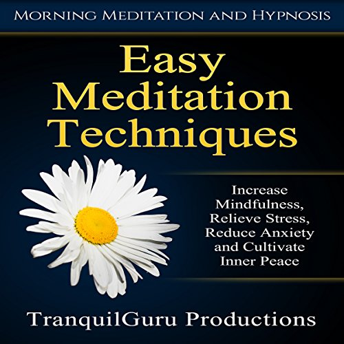 Easy Meditation Techniques audiobook cover art