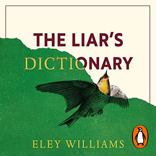 The Liar's Dictionary audiobook cover art
